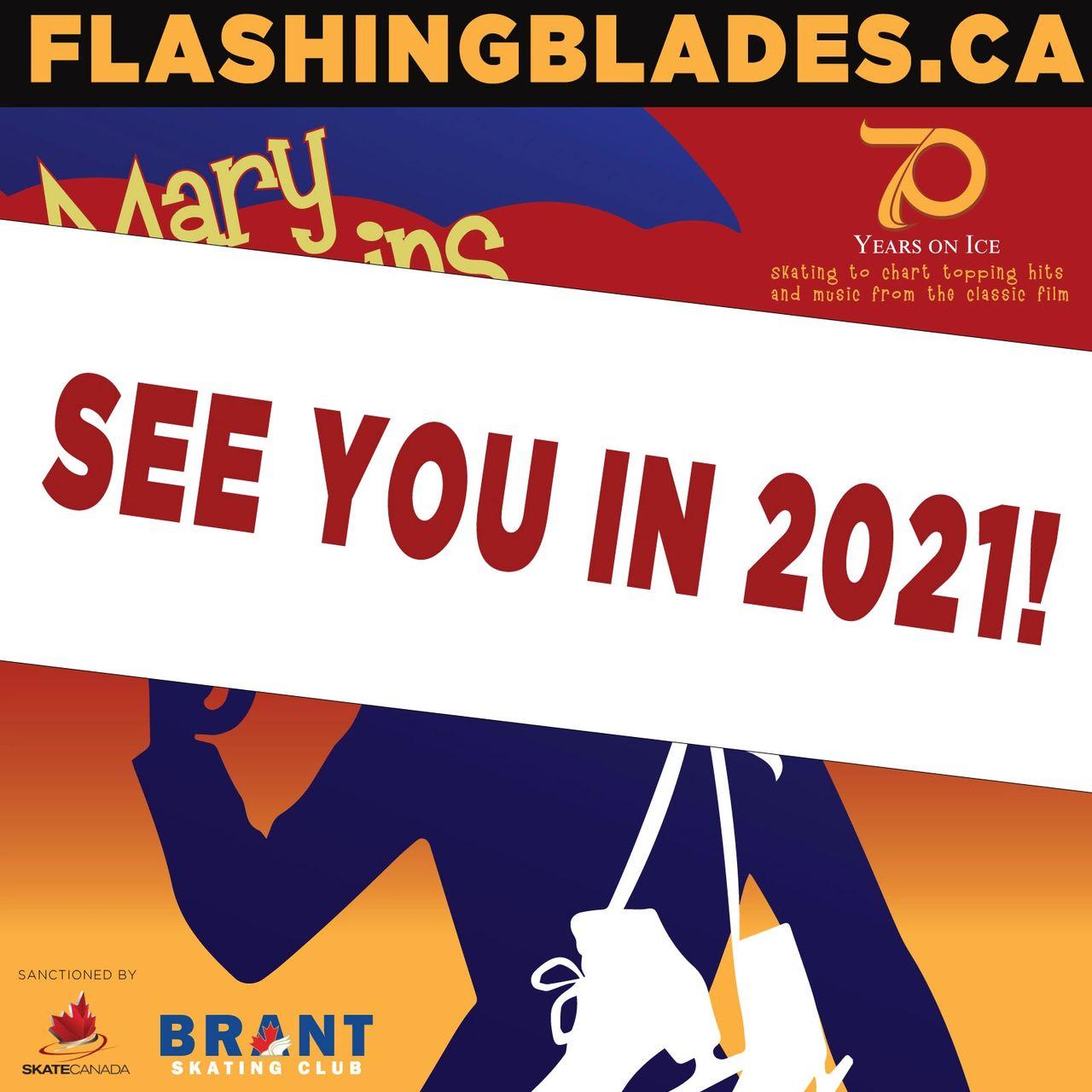 'Flashing Blades 70' Postponed to 2021